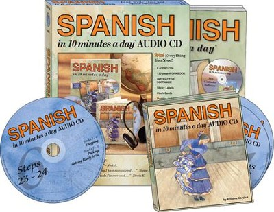 SPANISH in 10 Minutes a Day Kit with Audio CDs   -     By: Kristine Kershul