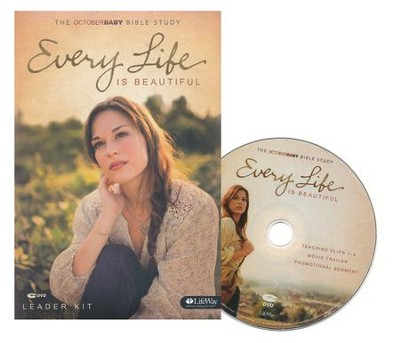Every Life Is Beautiful: The October Baby Bible Study Leader Kit  -     By: Nic Allen, Andrew Erwin