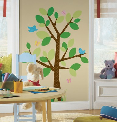 Dotted Tree, Vinyl Wall Stickers  -
