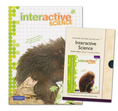 Interactive Science Grade 2 Homeschool Bundle   -