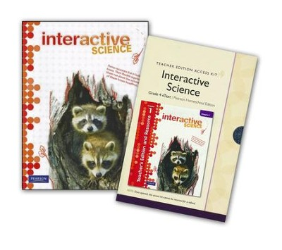 Interactive Science Grade 4 Homeschool Bundle   -