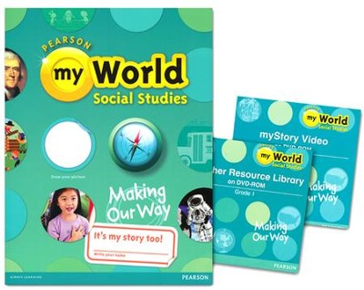 myWorld Social Studies Grade 1 Homeschool Bundle   -