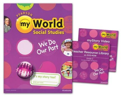 myWorld Social Studies Grade 2 Homeschool Bundle   -