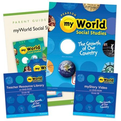 myWorld Social Studies Grade 6 Homeschool Bundle   -