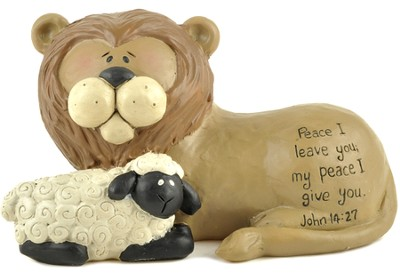 Lion and Lamb, For I Leave You My Peace  -