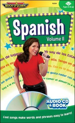 Spanish Volume 2 CD & Book   -