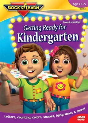 Getting Ready for Kindergarten DVD   -