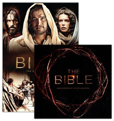 The Bible: The Epic Miniseries DVD with CD   -