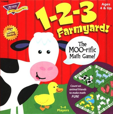 1-2-3 Farmyard! The MOO-Rific Math Game!   -