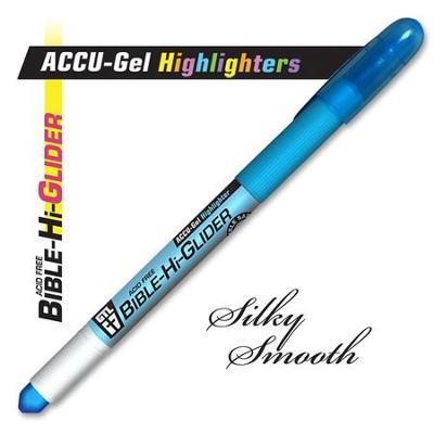 Gel Bible Highlighter, Blue  -