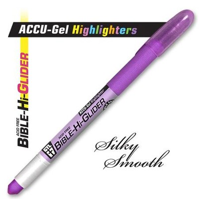 Gel Bible Highlighter, Violet  -