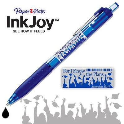 For I Know the Plans Pen, Jeremiah 29 11, Blue  -