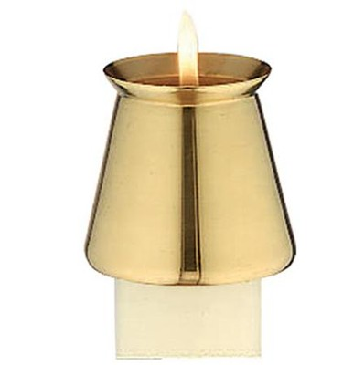 Brass Candle Follower, 7/8 inch   -