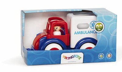 Super Chubbies 10 In. Ambulance  -