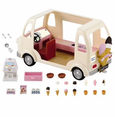 Calico Critters Ice Cream Truck  -