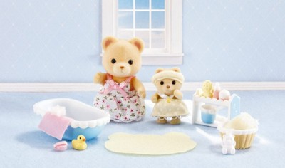 Calico Critters Melissa & Melody's Calico Critters Baby Bath Time Bath Time  -