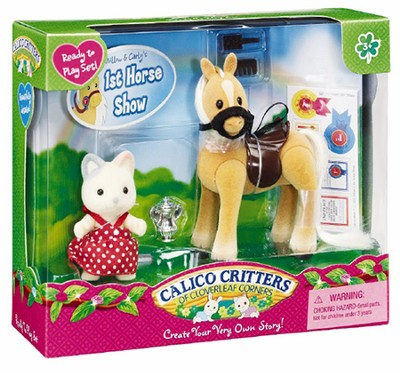 Calico Critters Willow & Carly's 1st Calico Critters Horse Show  -
