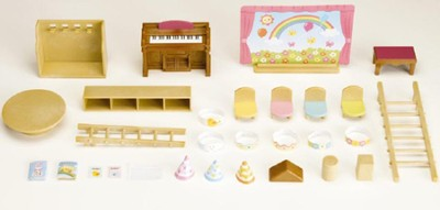 Calico Critters Rainbow Nursery  -