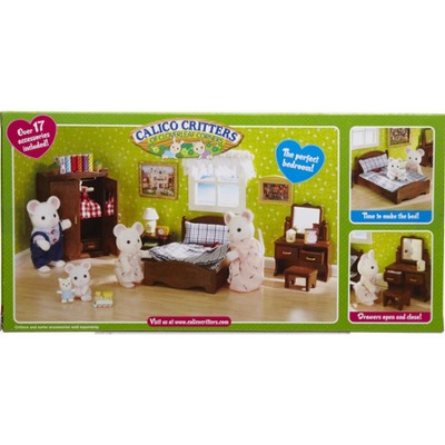 Calico Critters Master Bedroom Set  -