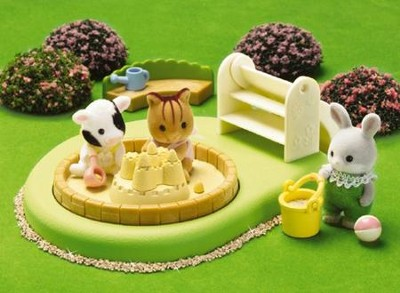 Calico Critters Baby Pool and Sandbox  -