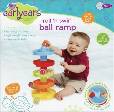 Roll 'n Swirl Ball Ramp  -