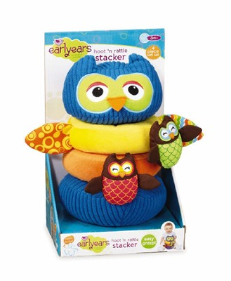 Hoot 'n Rattle Stacker  -