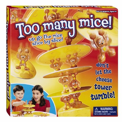 Too Many Mice! Game  -