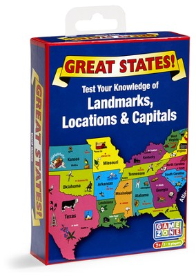 Great States Card Game  -