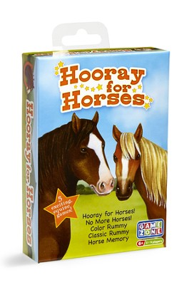 Hooray for Horses Card Game  -
