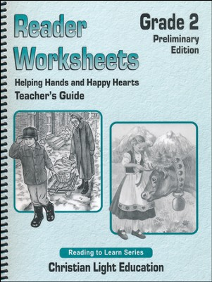 Helping Hands & Happy Hearts - Worksheets Teacher's Guide  -