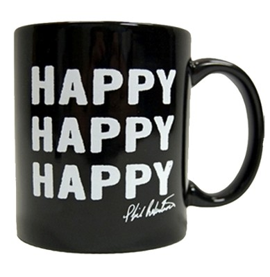 Duck Commander Signature Mug, Black, Happy Happy Duck Commander Series     -