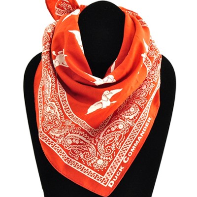 Duck Commander Bandanna, Orange Duck Commander Series   -