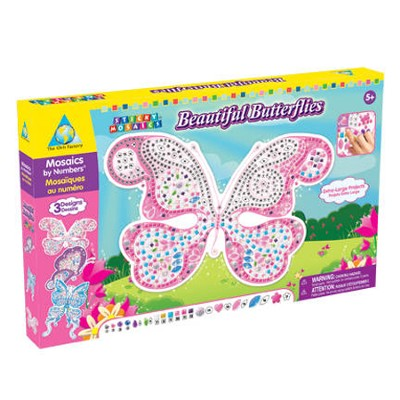 Sticky Mosaics &#174 Beautiful Butterflies   -