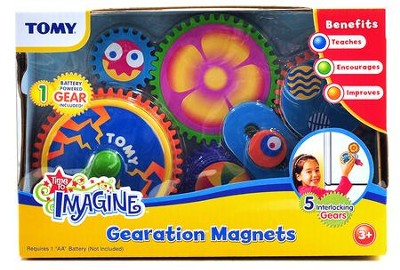 Tomy - Gearation - Refrigerator Magnets  -
