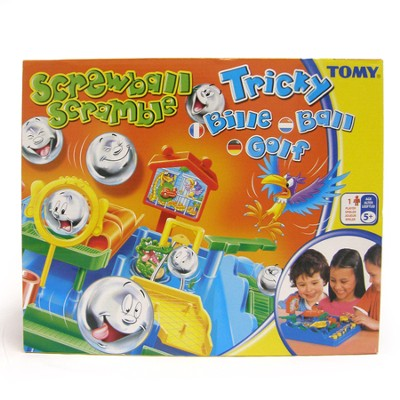 Tomy - Screwball Scramble - Game  -