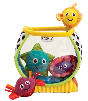 My First Fishbowl Plush  -