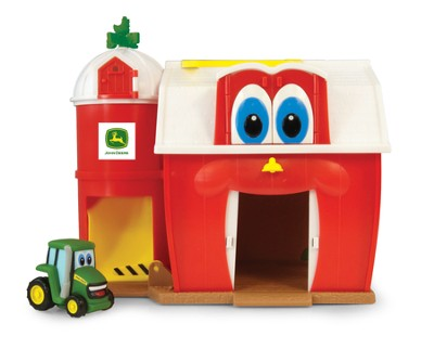 John Deere - Buddy Barn Playset - Barn/Tractor/Sheep  -