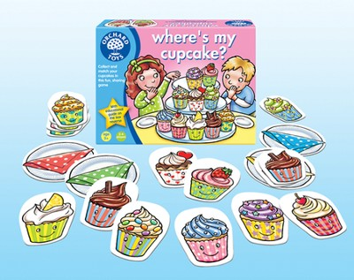 Where's My Cupcake Game  -
