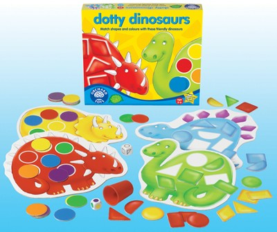 Dotty Dinosaurs Game  -
