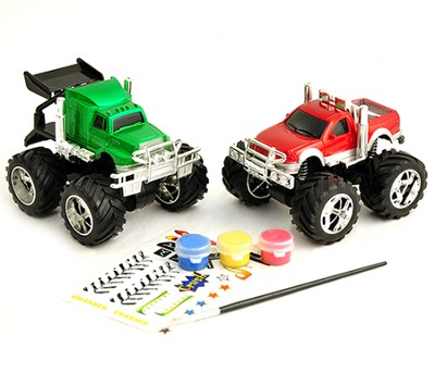 Monster Trucks Custom Shop Kit  -