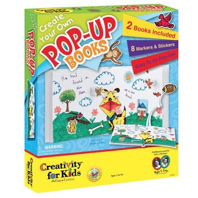 Create Your Own Pop-Up Books Kit  -