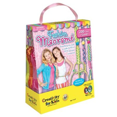 Fashion Macrame Kit   -