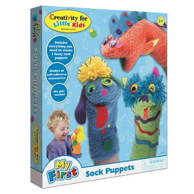 My First Sock Puppets Kit  -