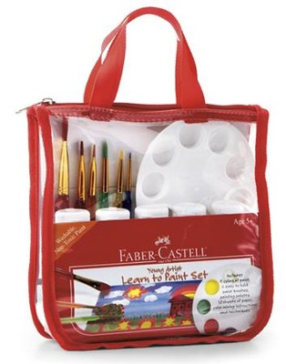 Young Artist Learn to Paint Set Kit  -