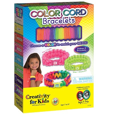 Color Cord Bracelets Kit  -