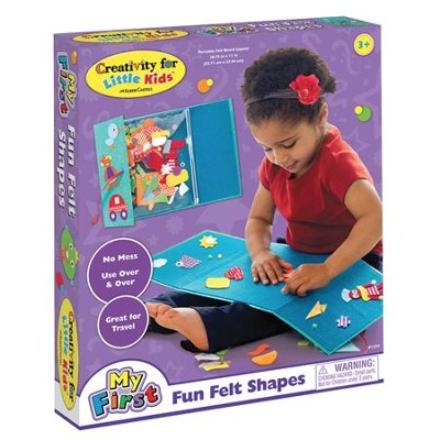 My First Fun Felt Shapes Kit  -