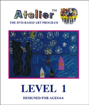 DVD-Based Art Lesson Modules Level 1B  -