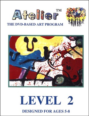 DVD-Based Art Lesson Modules Level 2B  -