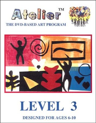 DVD-Based Art Lesson Modules Level 3B  -