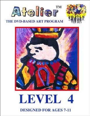 DVD-Based Art Lesson Modules Level 4A  -